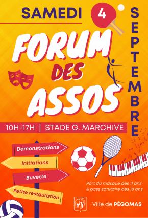 Forum des associations – Pégomas